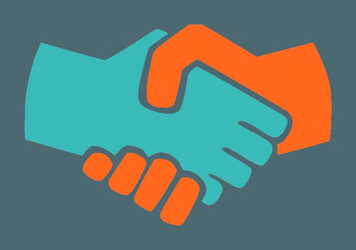 社交辞令の握手