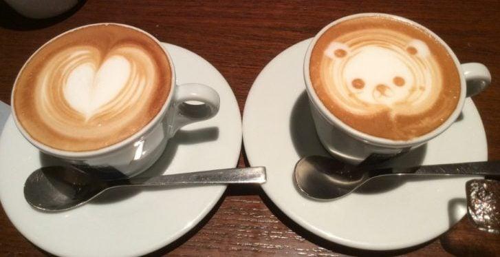 カフェでゆっくり