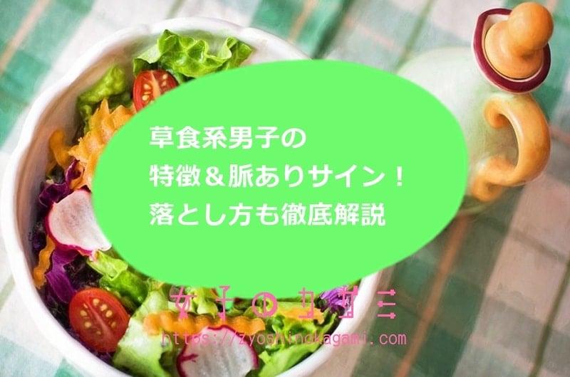 草食系男子の特徴