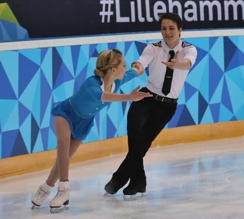 フィギュアスケートの男女ペア