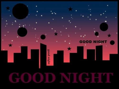 おやすみのスタンプ
