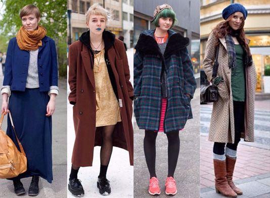 フィンランド女性のストリートスナップ