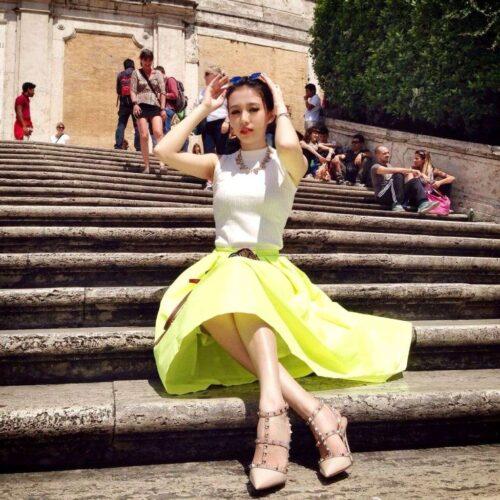 ヨーロッパ風のマカオファッション